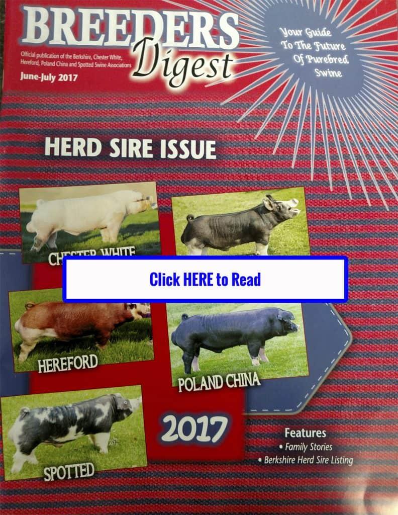 Breeders Digest Magazine June-July 2017